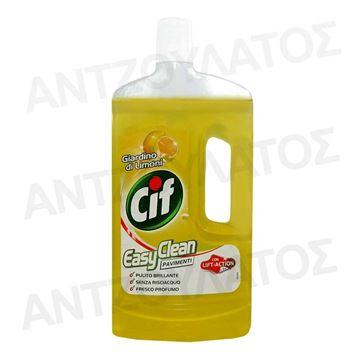 Εικόνα της CIF ΥΓΡΟ ΠΑΤΩΜΑΤΟΣ 1LT EASY CLEAN  LEMON