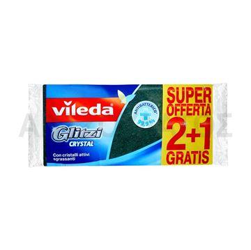 Εικόνα της VILEDA ΣΦΟΥΓΓΑΡΑΚΙ ΚΟΥΖΙΝΑΣ (GLITZI CRYSTAL) 2+1