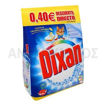 Εικόνα της DIXAN ΣΚΟΝΗ ΠΛΥΝΤΗΡΙΟΥ 15 MEZ 0,825KG  ΣΑΚΟΥΛΑ -0,40€