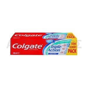 Εικόνα της COLGATE ΟΔΟΝΤΟΚΡΕΜΑ 100ML ORIGINAL MINT TRIPLE ACTION