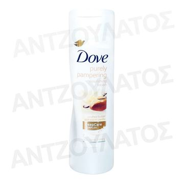 Εικόνα της DOVE BODY LOTION 400ml PURELY PAMPERING