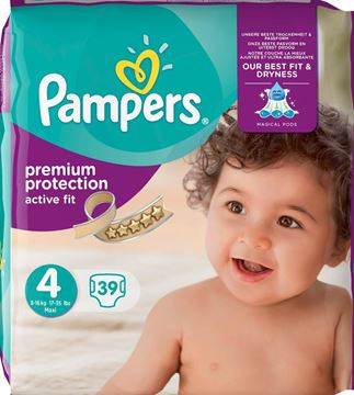 Εικόνα της PAMPERS ACTIVE FIT No4 (7-18KG) / 39 TΕΜ
