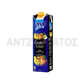 Εικόνα της VIVA FRESH 1LT EXOTIC 9 ΦΡΟΥΤΑ Φ.Χ.