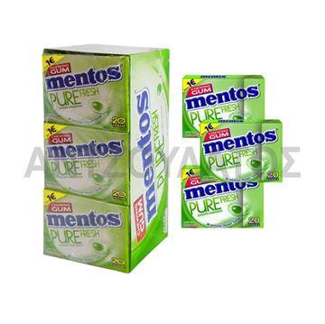 Εικόνα της MENTOS PURE FRESH 30ΓΡ ΛΕΜΟΝΙ ΜΕΝΤΑ x 12TEM (ΠΤ:1€)