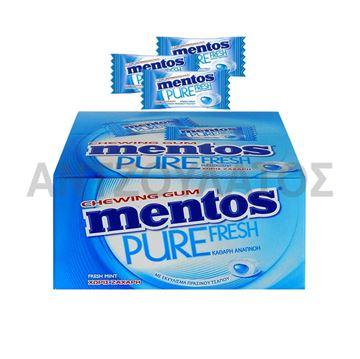 Εικόνα της MENTOS PURE FRESH MINI MENTA x 100ΤΕΜ