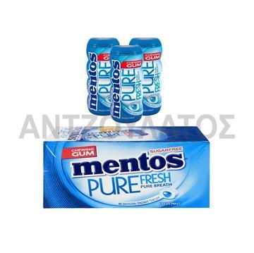 Εικόνα της MENTOS PURE FRESH ΜΠΟΥΚΑΛΑΚΙ 28ΓΡ MENTA x 12TEM