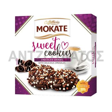 Εικόνα της MOKATE SWEET COOKIES 100ΓΡ ΜΕ ΕΠΙΚΑΛΥΨΗ ΚΟΜΜΑΤΙΑ ΣΟΚΟΛΑΤΑΣ