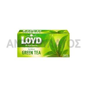 Εικόνα της LOYD ΤΣΑΙ ΦΑΚΕΛΑΚΙ 1,5ΓΡΧ20 ΦΑΚ GREEN TEA