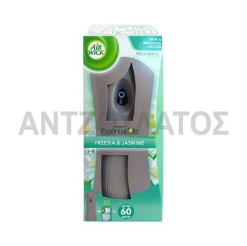 Εικόνα της AIRWICK FRESHMATIC ΣΥΣΚΕΥΗ 250ML FRESSIA & JASMINE