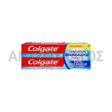 Εικόνα της COLGATE ΟΔΟΝΤΟΚΡΕΜΑ 2X75ML SENSATION