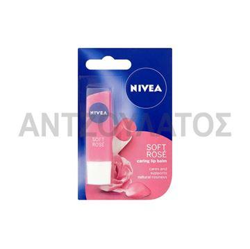 Εικόνα της NIVEA ΕΝΥΔΑΤΙΚΟ LIPSTICK 4,8ΓΡ SOFT ROSE