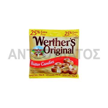 Εικόνα της WERTHERS ΚΑΡΑΜΕΛΕΣ ΒΟΥΤΥΡΟΥ 137,5ΓΡ  (25% EXTRA)