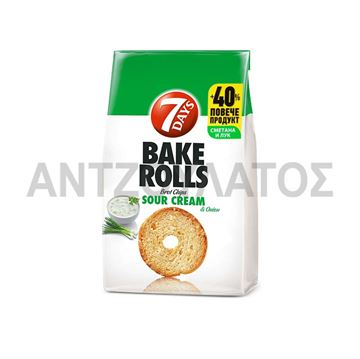 Εικόνα της 7 DAYS BAKE ROLLS 112ΓΡ SOUR CREAM & ONION