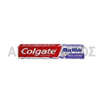 Εικόνα της COLGATE ΟΔΟΝΤΟΚΡΕΜΑ 75ML MAX WHITE SHINE CRYSTALS