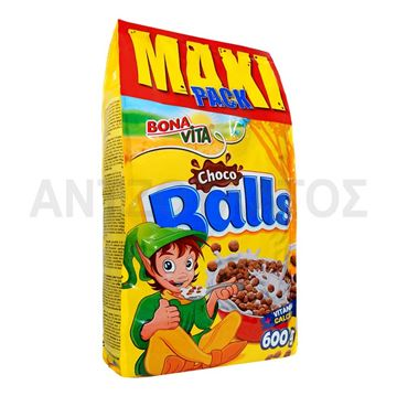 Εικόνα της BONA VITA ΔΗΜΗΤΡΙΑΚΑ 600ΓΡ CHOCO BALLS