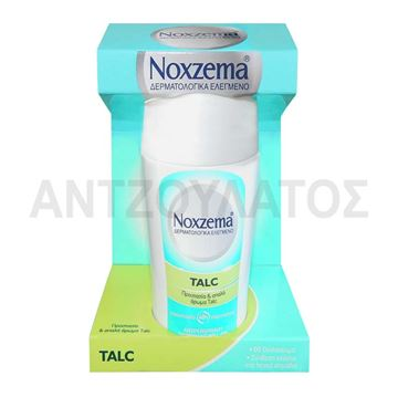 Εικόνα της NOXZEMA ROLLON 50ML TALC