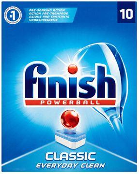Εικόνα της FINISH POWERBALL 10 ΤΑΜΠΛΕΤΕΣ CLASSIC