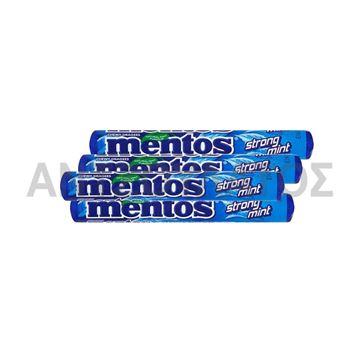 Εικόνα της MENTOS ΚΑΡΑΜΕΛΕΣ 37,5ΓΡ STRONG MINT