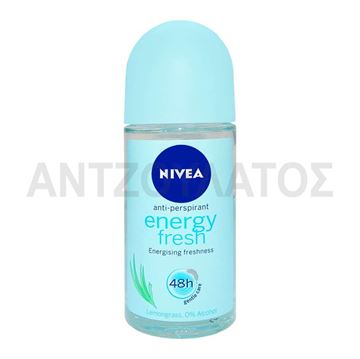 Εικόνα της NIVEA ROLL ON 50ML ENERGY FRESH