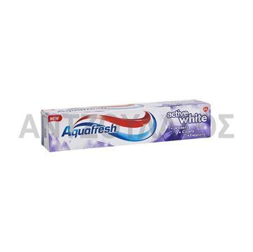 Εικόνα της AQUAFRESH ΟΔΟΝΤΟΚΡΕΜΑ 125ML ACTIVE WHITE