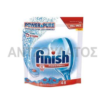 Εικόνα της FINISH POWERBALL 48TMX POWER & PURE