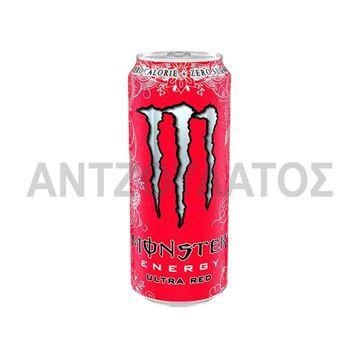 Εικόνα της MONSTER ENERGY 500ML ULTRA RED