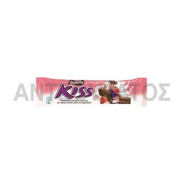 Εικόνα της KISS ΣΟΚΟΛΑΤΑ 27,5ΓΡ ΓΑΛΑ ΚΑΙ ΦΡΑΟΥΛΑ