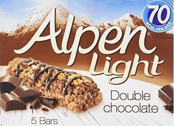Εικόνα της ALPEN ΜΠΑΡΕΣ 95ΓΡ 5ΤΜΧ LIGHT DOUBLE CHOCOLATE