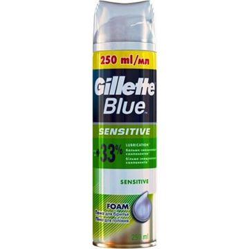 Εικόνα της GILLETTE BLUE ΑΦΡΟΣ ΞΥΡΙΣΜΑΤΟΣ 250ML SENSITIVE