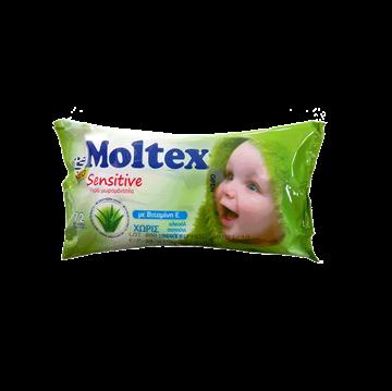 Εικόνα της MOLTEX ΜΩΡΟΜΑΝΤΗΛΑ 72ΤΕΜ SENSITIVE ME  ΕΚΧΥΛΙΣΜΑ ΑΛΟΗΣ ΕΛΛΗΝΙΚΟ