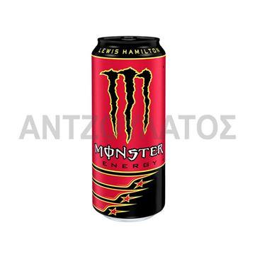 Εικόνα της MONSTER ENERGY 500ML HAMILTON RED ΕΛΛΗΝΙΚΟ