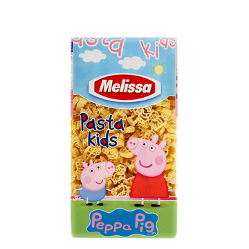 Εικόνα της ΜΕΛΙΣΣΑ ΠΑΣΤΑ ΠΑΙΔΙΚΗ  500ΓΡ PEPPA PIG