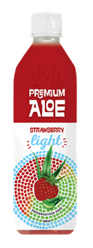 Εικόνα της PREMIUM ALOE VERA STRAWBERRY LIGHT 500ML