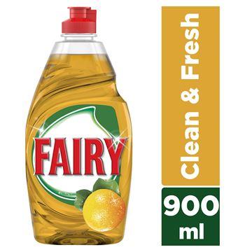 Εικόνα της FAIRY ΥΓΡΟ ΠΙΑΤΩΝ 900ML CLEAN & FRESH ORANGE  ΕΛΛΗΝΙΚΟ