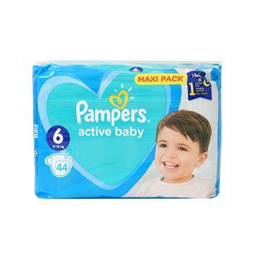 Εικόνα της PAMPERS ACTIVE BABY MAXI No6 (13-18 KG) / 44 ΤΕΜ ΕΛΛΗΝΙΚΟ