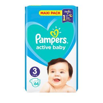 Εικόνα της PAMPERS ACTIVE BABY MAXI No3 (6-10 KG) / 66ΤΕΜ ΕΛΛΗΝΙΚΟ