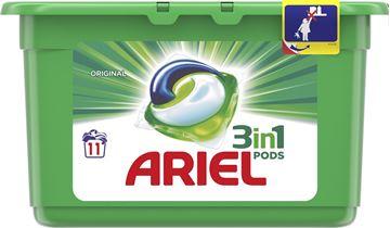 Εικόνα της ARIEL CAPS  3IN1 11 ΤΜΧ ORIGINAL (297ΓΡ) ΕΛΛΗΝΙΚΟ