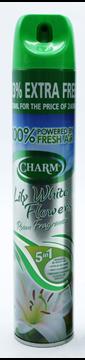 Εικόνα της CHARM ΑΠΟΣΜΗΤΙΚΟ ΧΩΡΟΥ 240ML (+80ML ΔΩΡΟ)  LILY & WHITE FLOWER