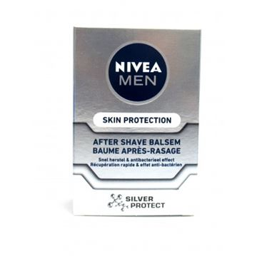 Εικόνα της NIVEA AFTERSHAVE BALM 100ML SILVER PROTECTION