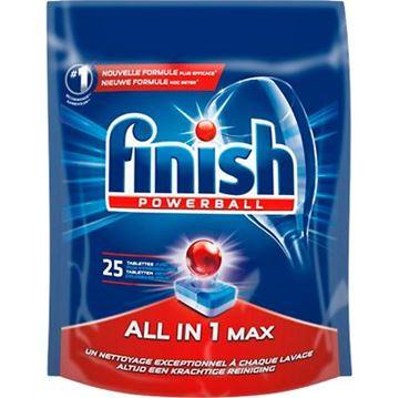 Εικόνα της FINISH 25 ΤΑΜΠΛΕΤΕΣ ALL IN 1 MAX