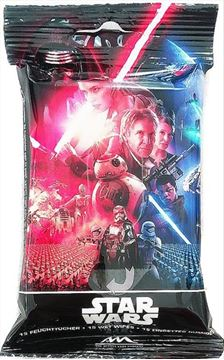 Εικόνα της DISNEY STAR WARS DISPLAY WET WIPES 15TMX