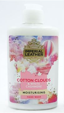 Εικόνα της IMPERIAL LEATHER ΚΡΕΜΟΣΑΠΟΥΝΟ 300ML COTTON CLOUDS & WHITE CASHMERE