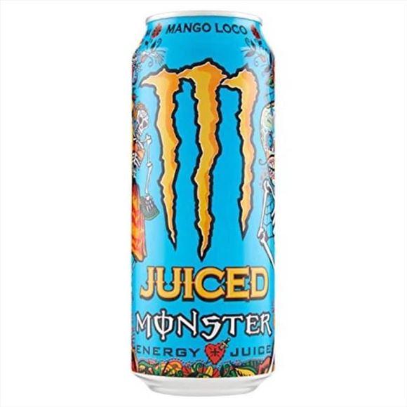 Εικόνα της MONSTER ENERGY 500ML JUICED MANGO LOCO