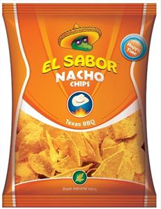 Εικόνα της EL SABOR NACHO CHIPS 100 BARBEQUE