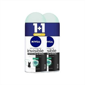 Εικόνα της NIVEA ROLL ON 50ML BLACK & WHITE INVISIBLE ACTIVE WOMEN (1+1 ΔΩΡΟ) ΕΛΛΗΝΙΚΟ